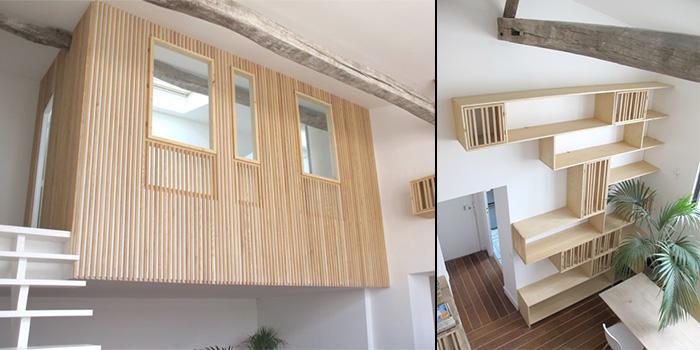 duplex nid rangement architecte