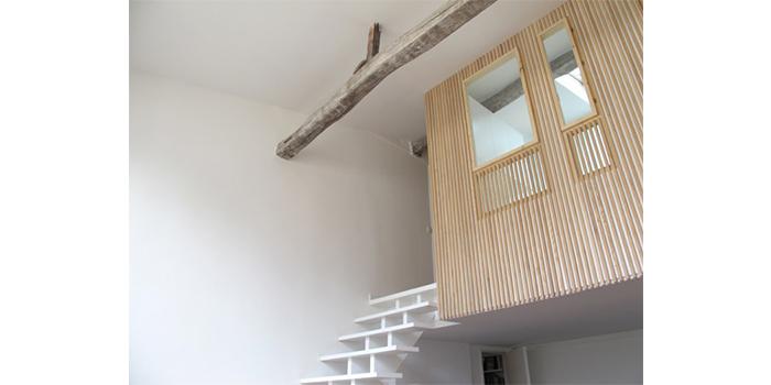 duplex renovation bois nid