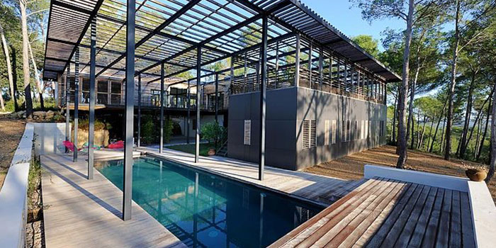 piscine construction contemporaine architecte