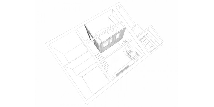 plan dessin duplex architecte