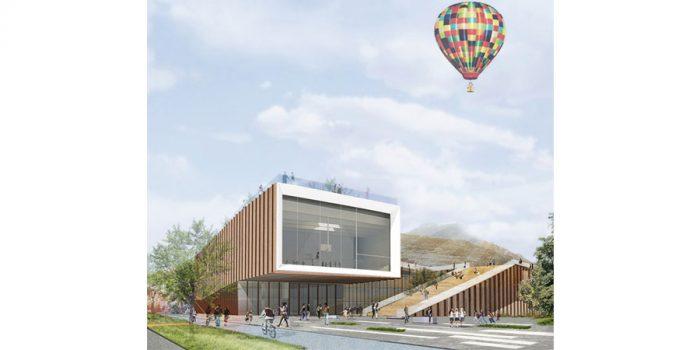 plan 3D immeuble architecture