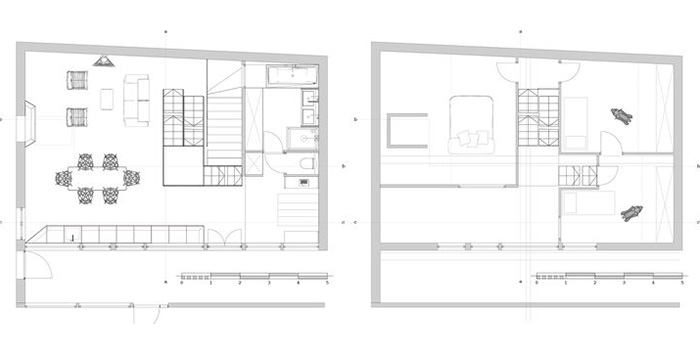 plan rehabilitation loft architecte