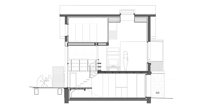 plan renovation maison architecte
