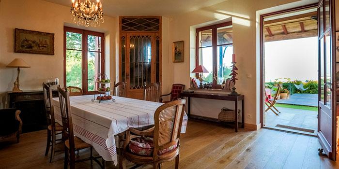 salle a manger villa