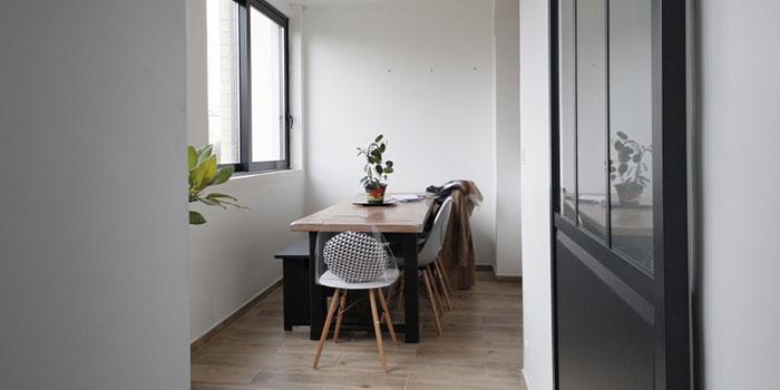 salle a manger renovation