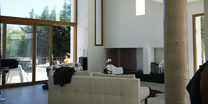 sejour maison moderne architecte