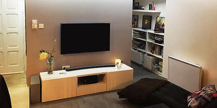 salon renovation duplex architecte