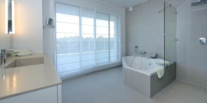 salle de bain villa architecte