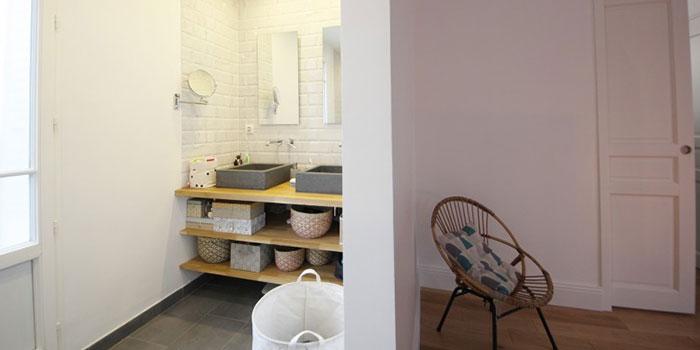 salle d'eau maison rénovée