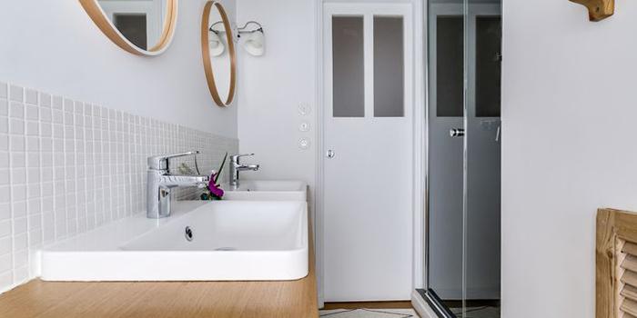 salle de bain duplex architecte