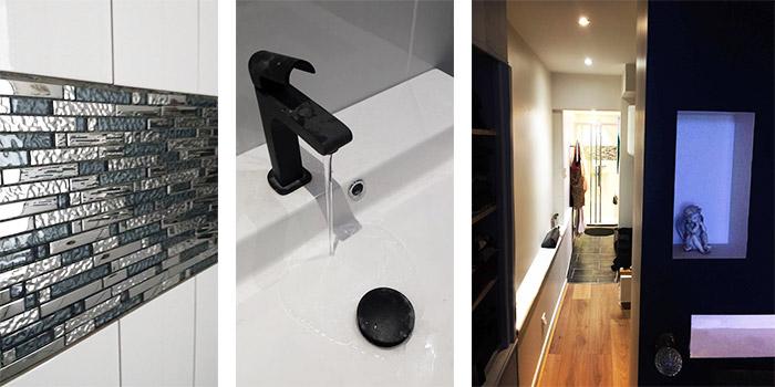 salle de bain couloir duplex