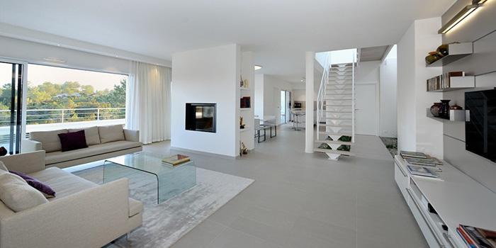construction villa architecte sejour