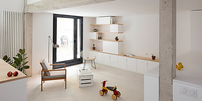 renovation appartement architecte sejour