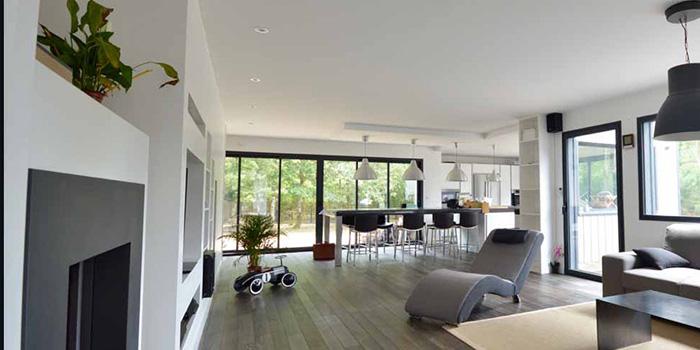 sejour maison moderne architecture
