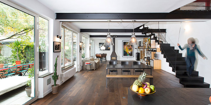 renovation loft espace architecte