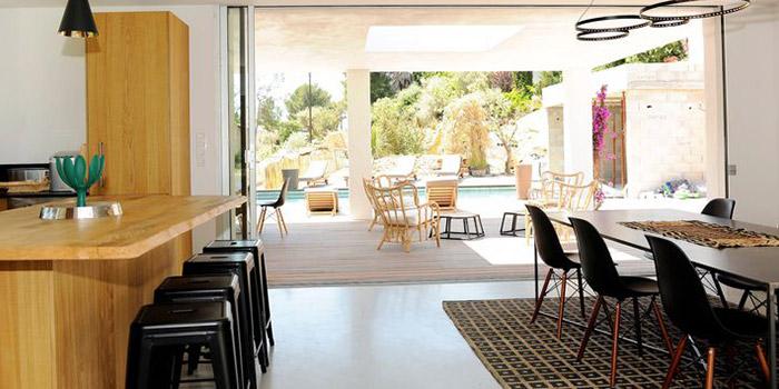 sejour terrasse maison architecte