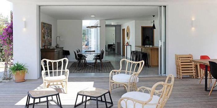 terrasse sejour maison architecte