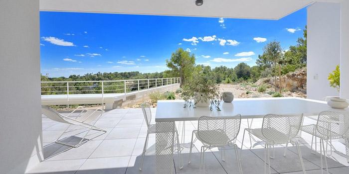 villa architecte terrasse vue