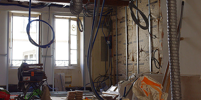 renovation duplex travaux architecte