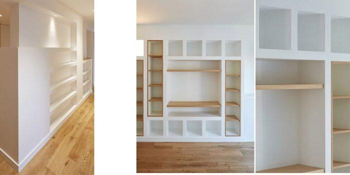 rangements muraux creation architecte