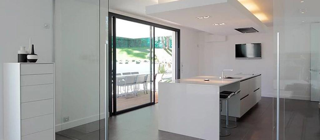 cuisine spacieuse ouverte architecte
