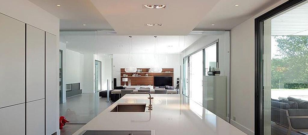 sejour lumineux maison architecte