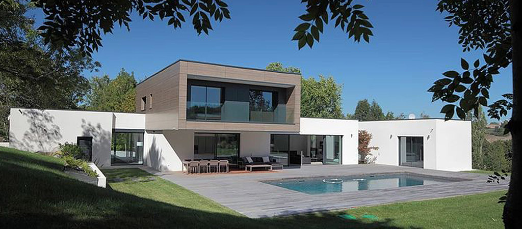 belle maison contemporaine architecte