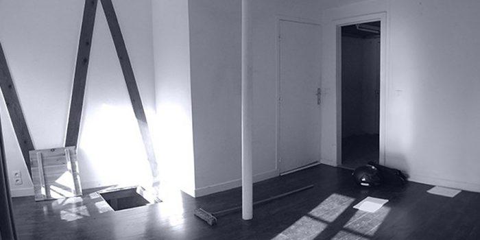 studio avant travaux renovation