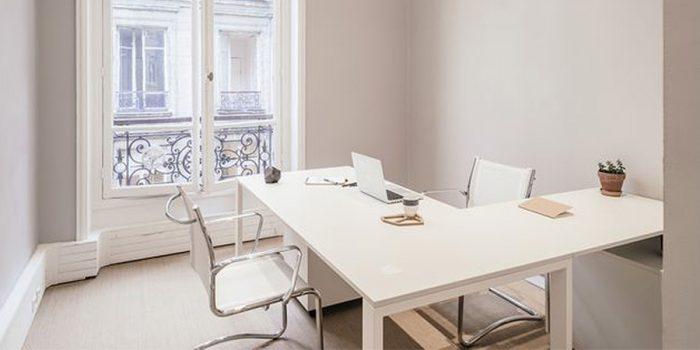 bureau blanc renovés paris