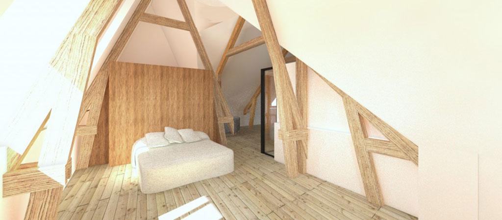 renovation maison plan chambre