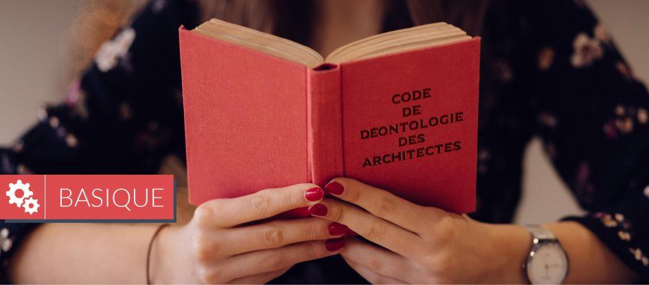 code deontologique architecte