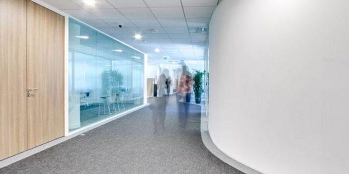 couloir renové open space
