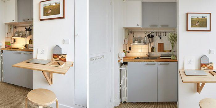 cuisine bureau renovation architecture