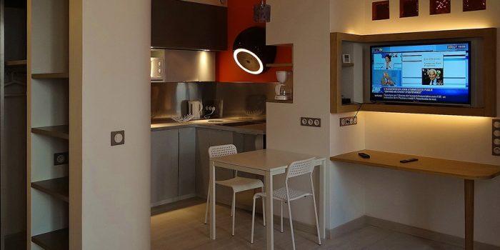 cuisine studio renové architecte