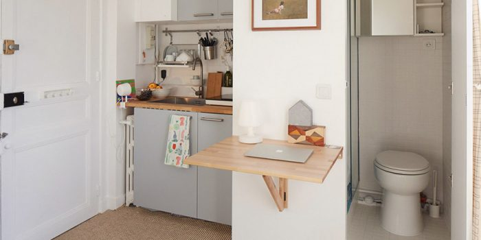 kitchenette studio renovation architecte