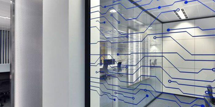 bureaux vitrés renovés architecture