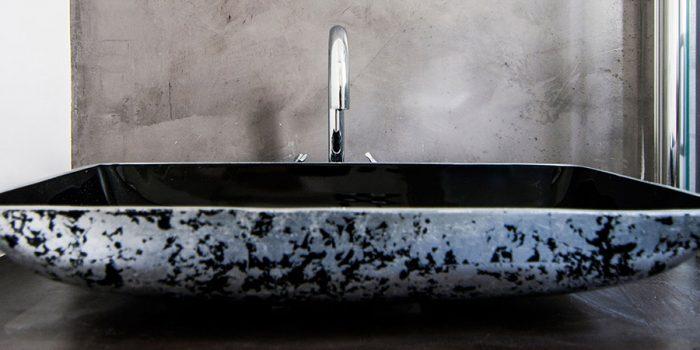 lavabo salle d'eau studio