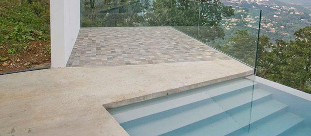 piscine maison neuve architecte