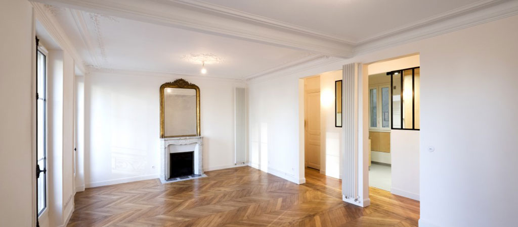 sejour renovation appartement haussmannien