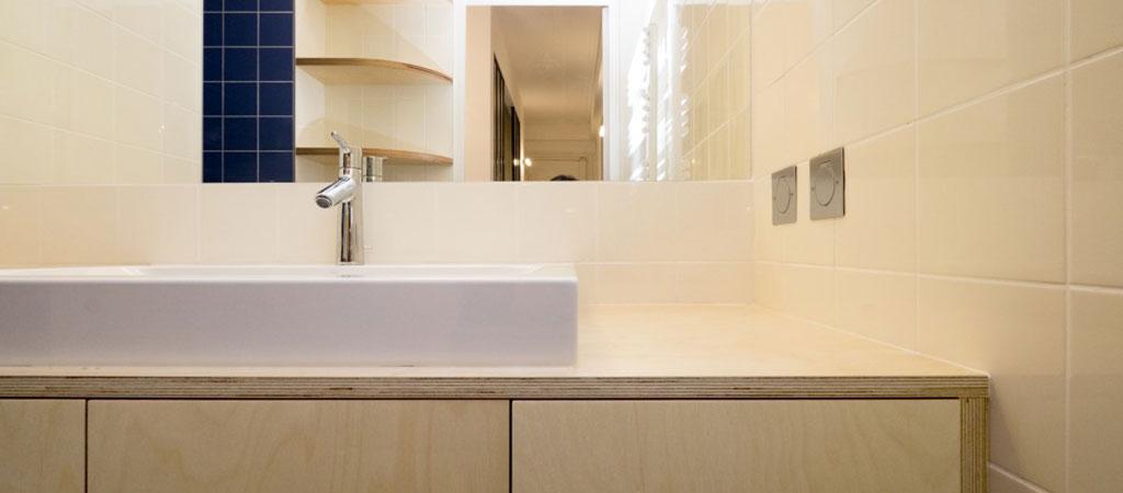 salle d'eau renovation appartement