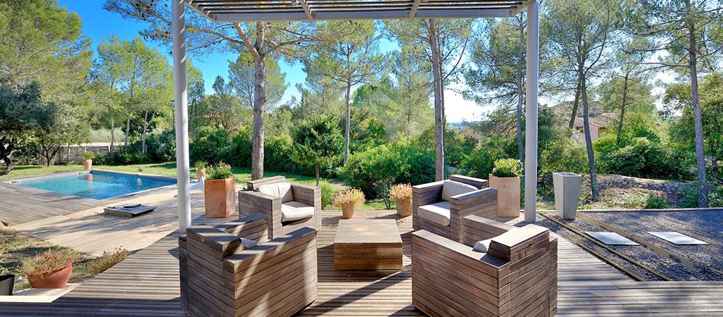 jardin terrasse maison architecte