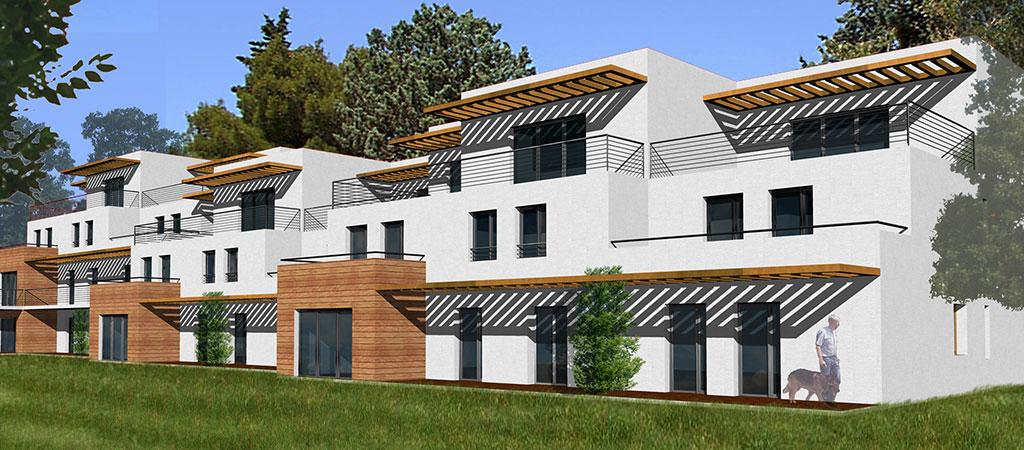 3D logements periurbain marseille