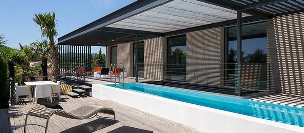 facade piscine construction neuve