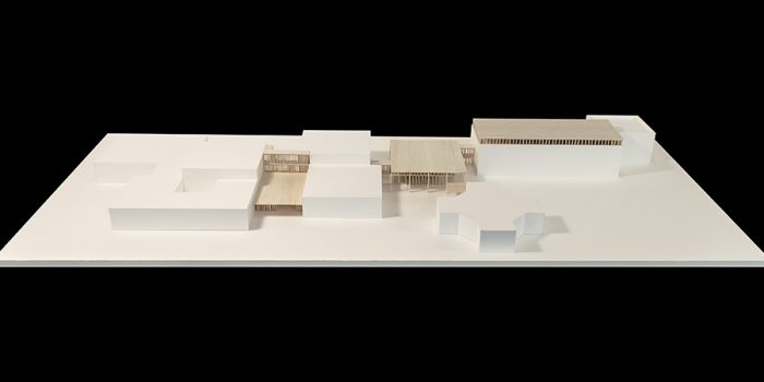 maquette projet lycee architecture