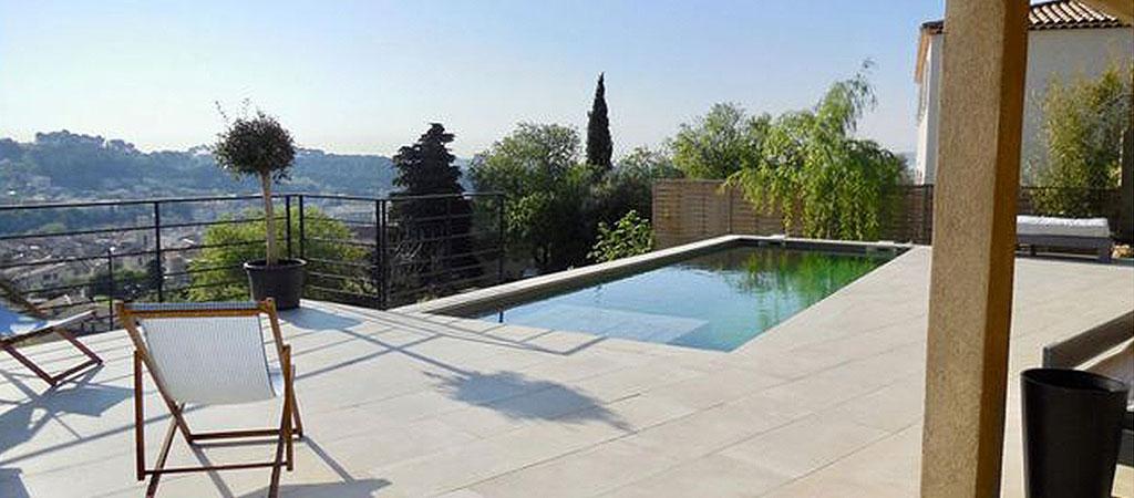 piscine creusée construction neuve