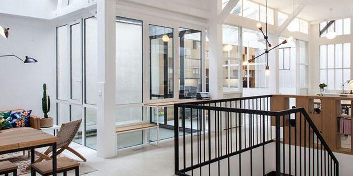 renovation bureaux open space
