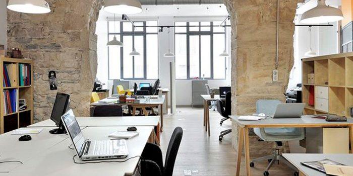 open space avant renovation