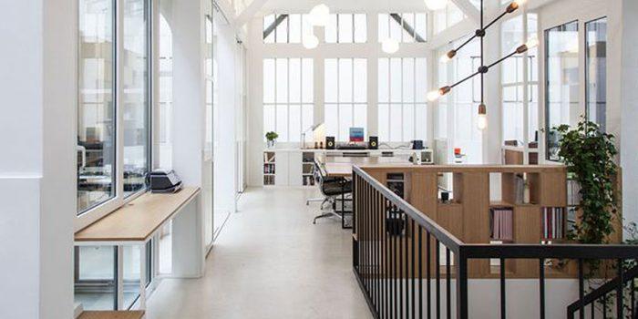 bureaux renovés architecture