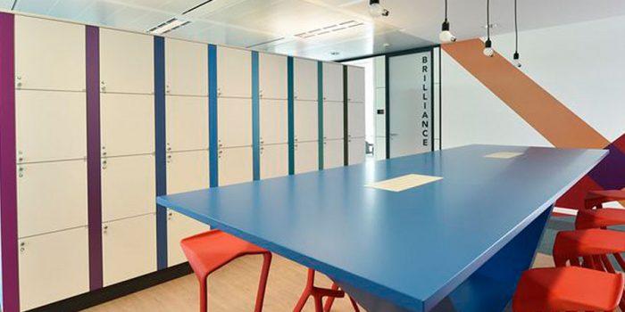 repas casier bureaux architecture