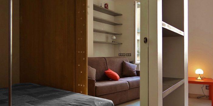salon petit studio architecte